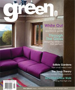 green Issue No.17 magazine cover