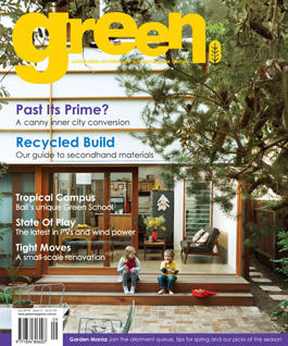 green issue No.15 magazine cover