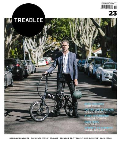 TREADLIE magazine cover