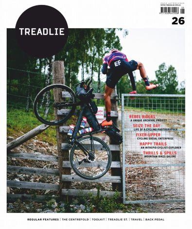 TREADLIE magazine cover