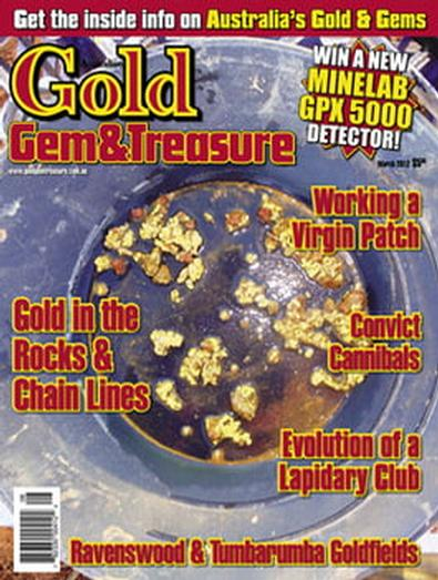 Australian Gold Gem & Treasure magazine cover