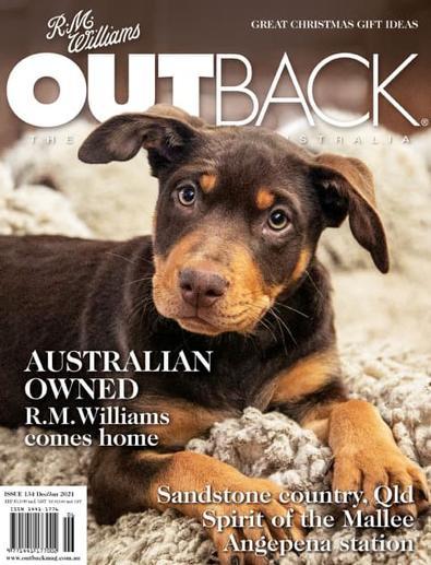 R.M. Williams OUTBACK Magazine cover