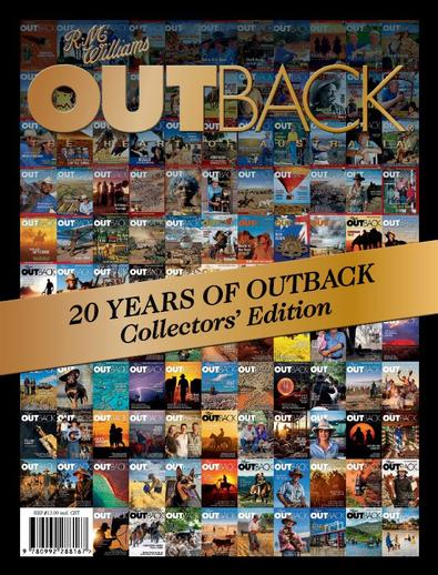 20 Years of OUTBACK: Collectors' edition cover