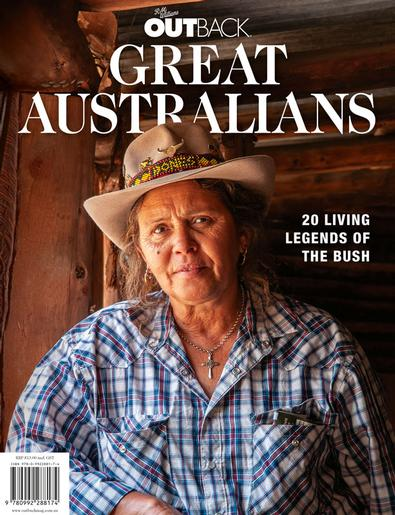 OUTBACK Great Australians cover