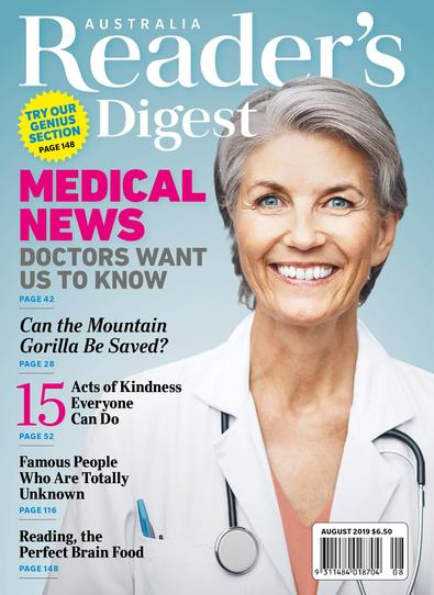 Reader's Digest magazine cover