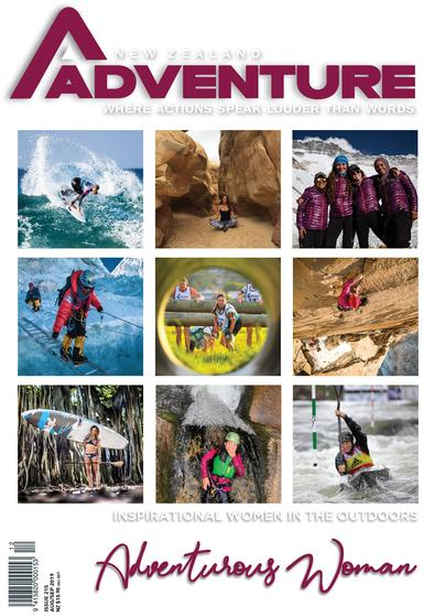 NZ Adventure Magazine cover