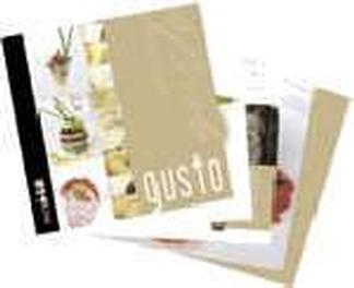gusto cook book cover