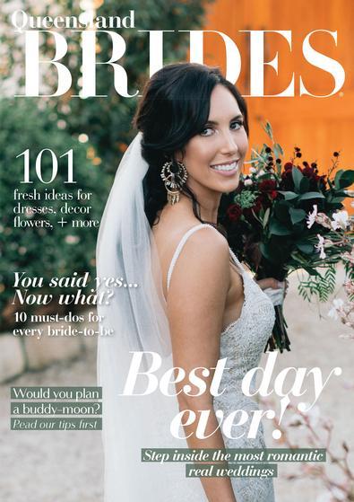 Queensland Brides magazine cover
