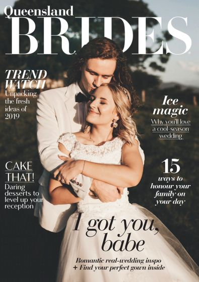 Queensland Brides magazine cover