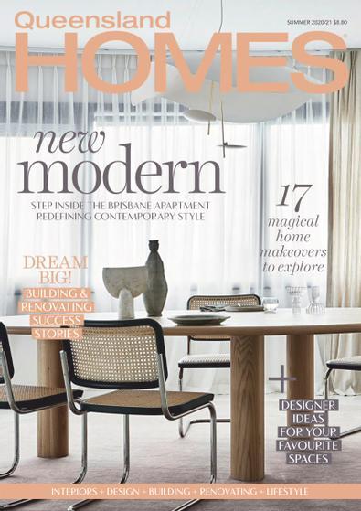 Queensland Homes magazine cover