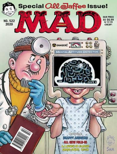MAD Magazine cover