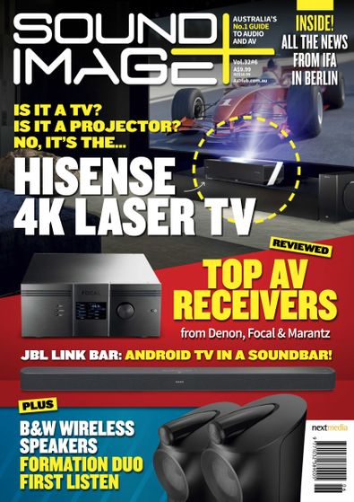 Sound and Image magazine cover