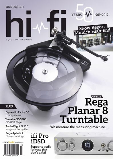 Australian Hi-Fi magazine subscription