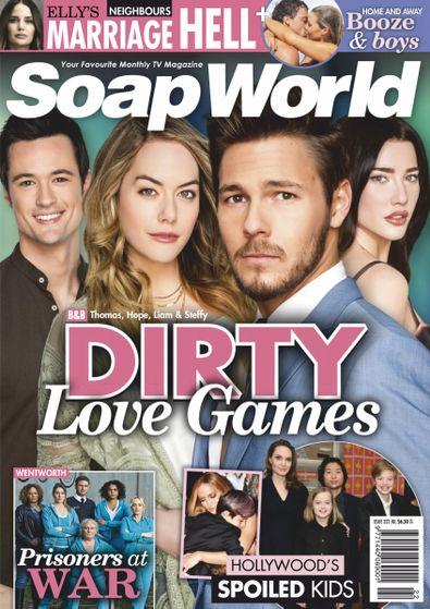 Soap World magazine cover