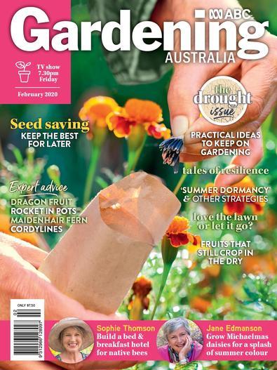 Gardening Australia magazine cover