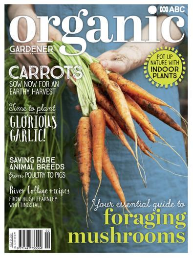 ABC Organic Gardener magazine cover