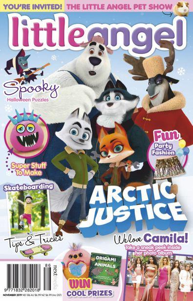 Little Angel magazine cover