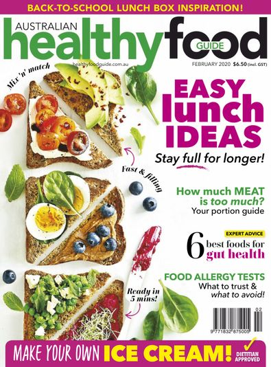 Healthy Food Guide magazine cover