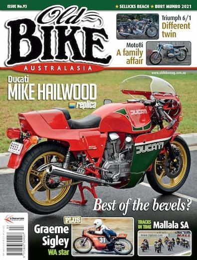 Old Bike Australasia magazine cover