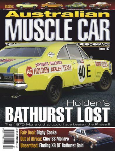 Australian Muscle Car magazine cover