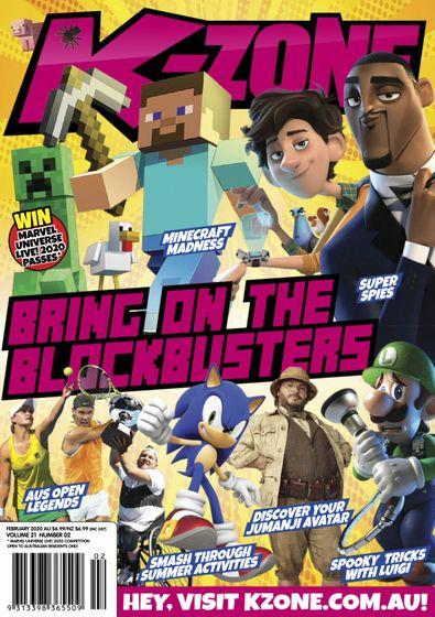K-Zone magazine cover