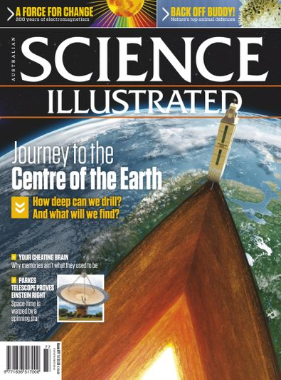 Science Illustrated magazine cover