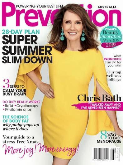 Prevention magazine cover
