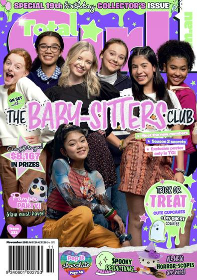 Total Girl magazine cover