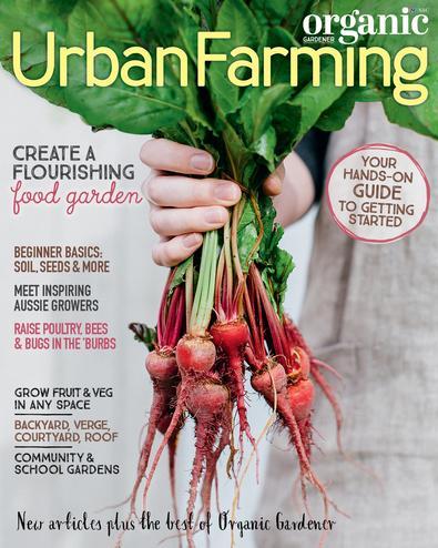 Organic Gardener Essential Guide #13 Urban Farming cover