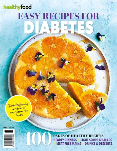 Healthy Food Guide Easy Recipes for Diabetes cover