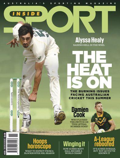 Inside Sport magazine cover