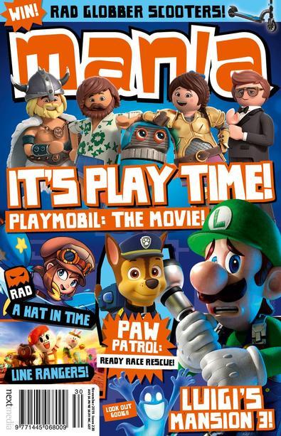 Mania magazine cover