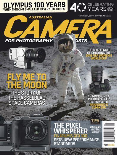 Camera magazine cover