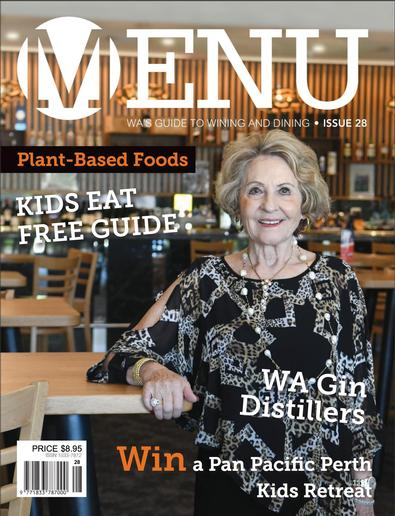 Menu Magazine cover