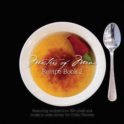 Masters of Menu Recipe Book 2 magazine cover