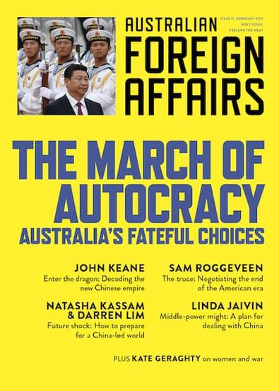 Australian Foreign Affairs magazine cover