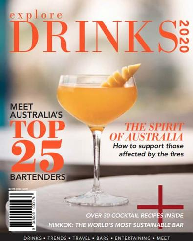 Explore Drinks magazine cover