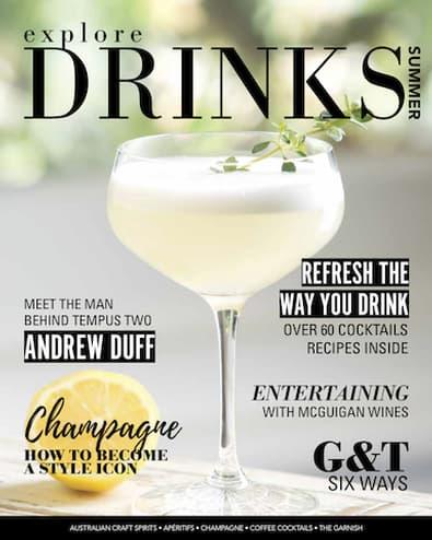 Explore Drinks magazine cover