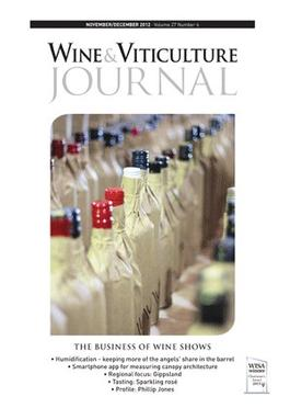 Wine & Viticulture Journal magazine cover