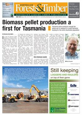 Australian Forests & Timber magazine cover