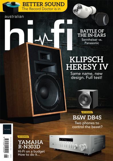 Australian Hi-Fi magazine cover