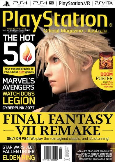 Australian Official Playstation Magazine cover