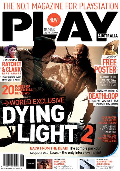 PLAY Australia magazine cover
