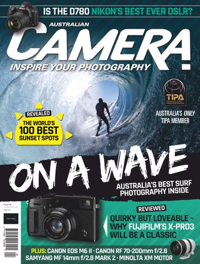 Australian Camera magazine cover