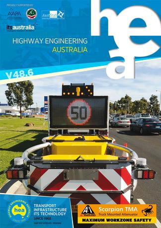 Highway Engineering Australia magazine cover