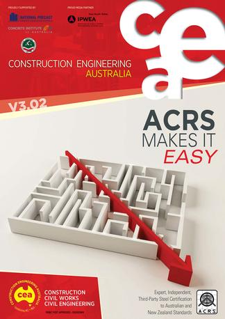 Construction Engineering Australia magazine cover