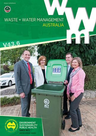 Waste + Water Management Australia magazine cover