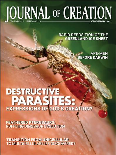 Journal Of Creation magazine cover