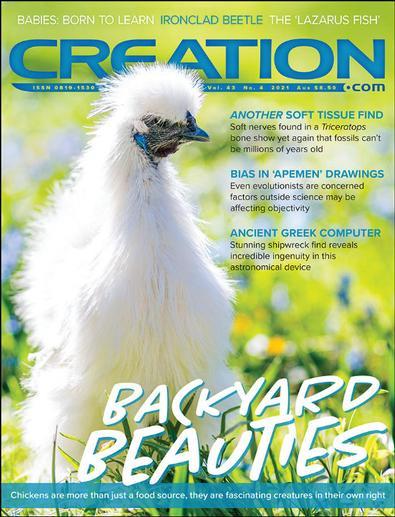 Creation Magazine cover
