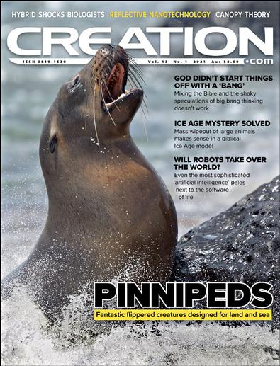 Creation Magazine cover